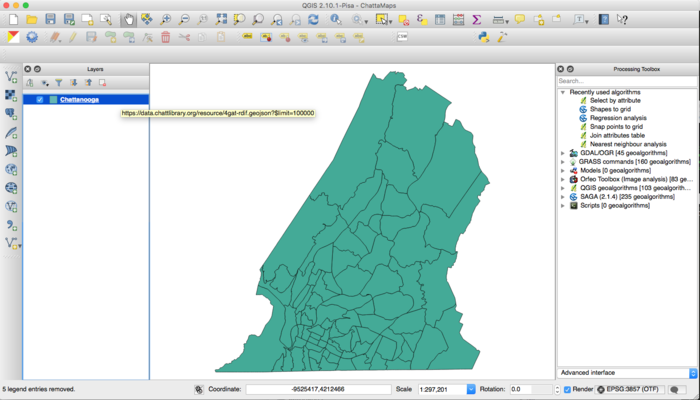 Geospatial Analysis with Socrata and QGIS | Socrata